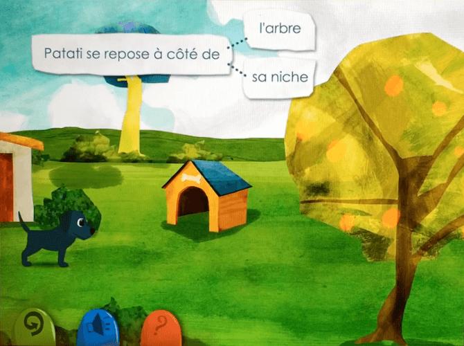 Jeu éducatif - Patati, le chien qui joue avec les mots - photo 2