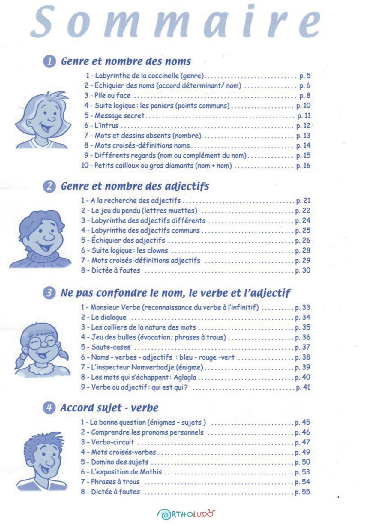 Jeu éducatif - Réflexions grammaticales - photo 2