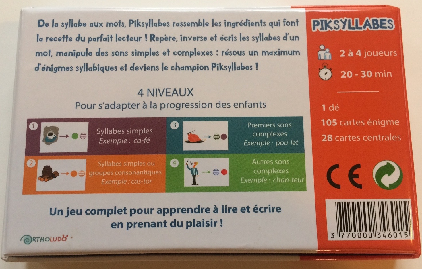 Jeu éducatif - Piksyllabes - photo 2