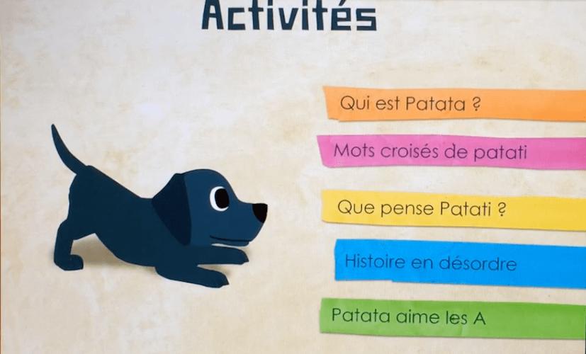 Jeu éducatif - Patati, le chien qui joue avec les mots - photo 3