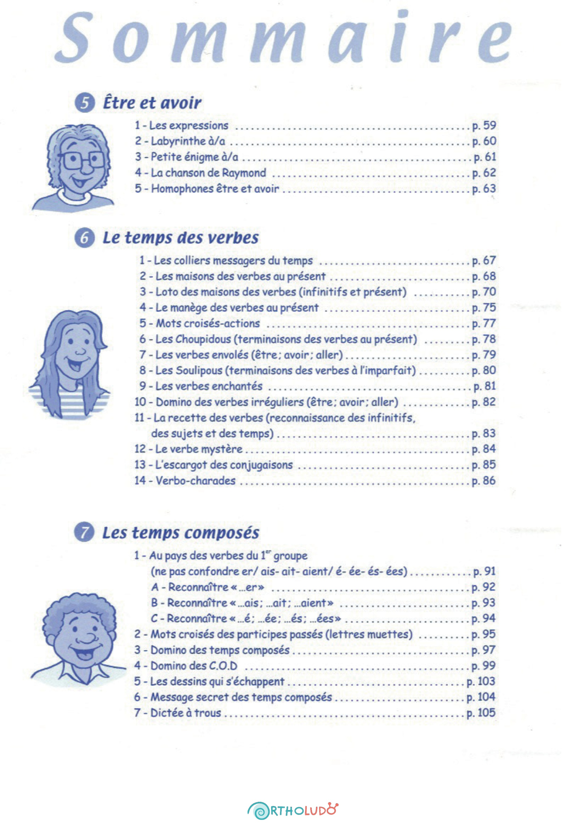 Jeu éducatif - Réflexions grammaticales - photo 3