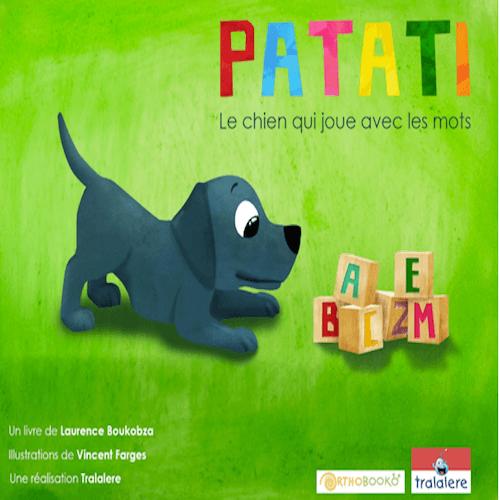 Jeu éducatif - Patati, le chien qui joue avec les mots