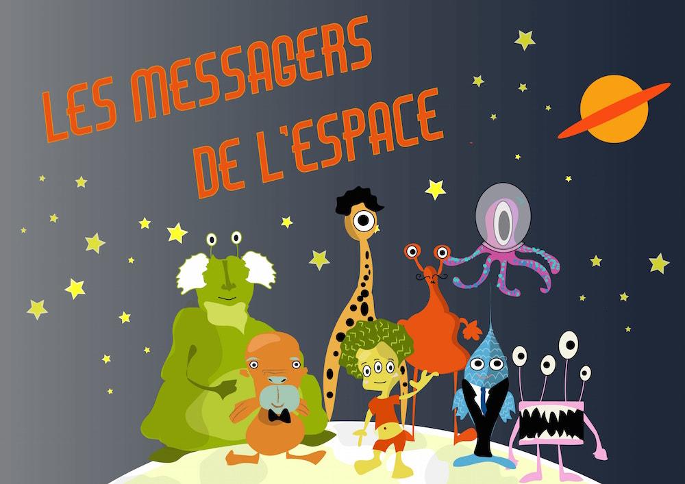 Jeu éducatif - Les messagers de l'espace - photo 1