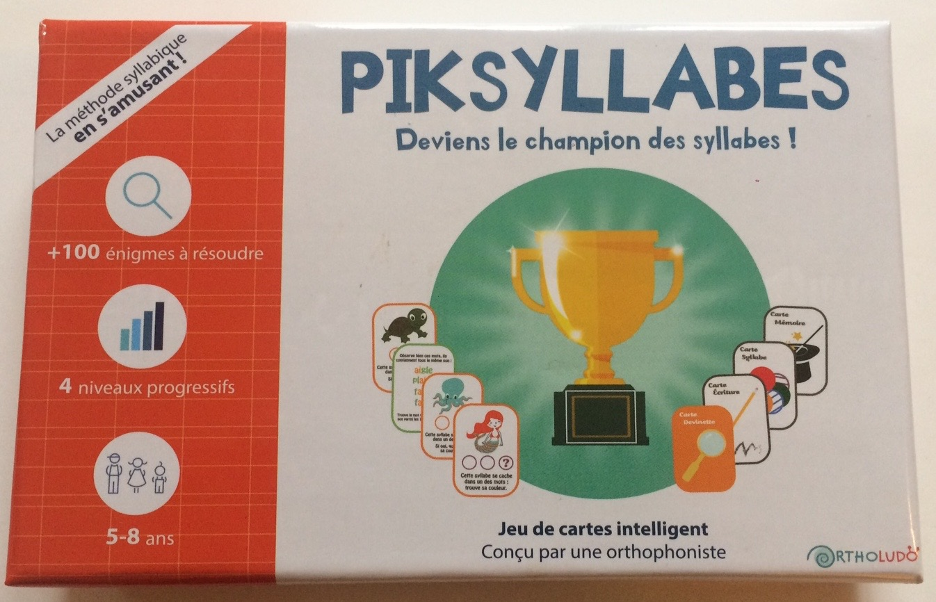 Jeu éducatif - Piksyllabes - photo 1